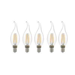 لامپ فیلامنتی 4 وات مدل SHC بسته 5 عددی
