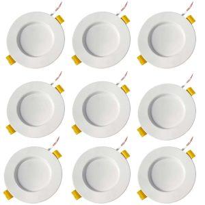 پنل ال ای دی 7 وات گلشن نور مدل دنیا بسته 9 عددی